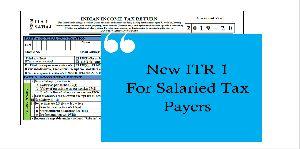 Salaried ITR-1 Filing Service