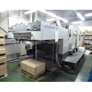 Komori Lithrone 2 Color Offset Printing Machine