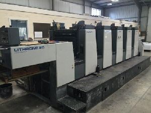 Komori Lithrone L 526 EM Offset Printing Machine