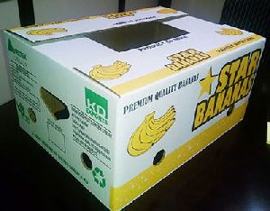 Corrugated Banana Packaging Boxes