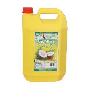 Sun Super 5 Litre Coconut Oil HDPE Bottle