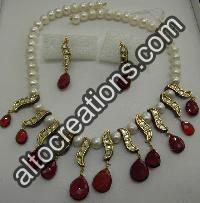 Kundan Necklace Set 08