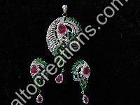 Silver Rhodium Jewellery 05