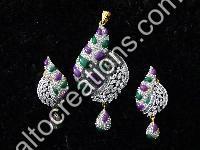 Silver Rhodium Jewellery 08