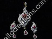 Silver Rhodium Jewellery 12