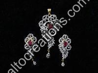 Silver Rhodium Jewellery 14