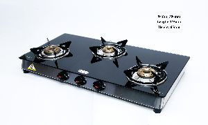 3 Burner Gas Glass Top