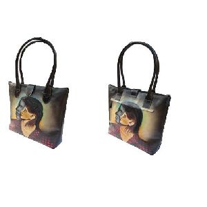 Ladies Printed Handbags