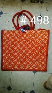Ladies Printed Jute Bags