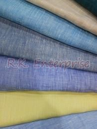 100% Linen Yarn Dyed Fabric