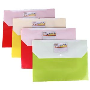A4 Size Button File Folder