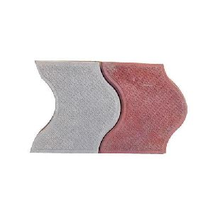 D Shaped Interlocking Tiles