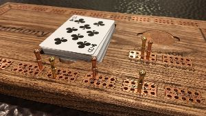 Wooden Cribbage Games