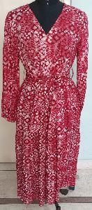 Wax Print Dress