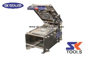 Round Paper Cup Sealing Machine