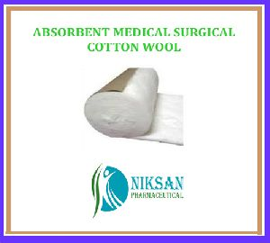 ABSORBENT MEDICAL SURGICAL COTTON WOOL