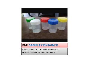 Plastic Sample Container