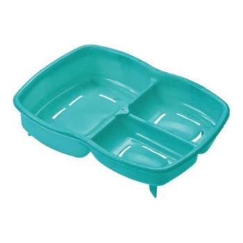 3 in 1 Green Plastic Soap Case