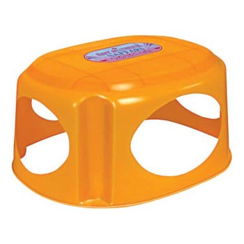 Lotus Plastic Fancy Stool