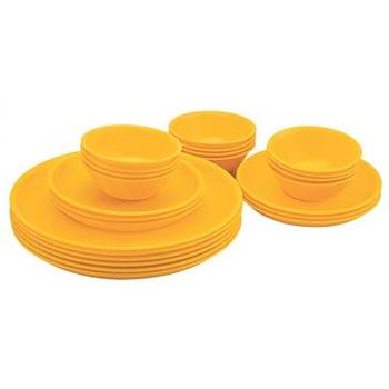 Microwavable Plastic Dinner Set