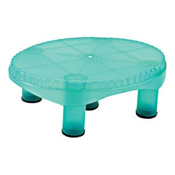 Oval Small Plastic Bath Stool