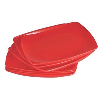 Quarter Plate (Square) 6 pcs