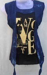 Black Stylish Top With Cool Jacket