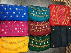 Beaded Clutch Purse