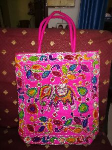 Cotton Embroidered Handbag