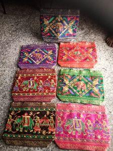 Multicolor Embroidered Handbag