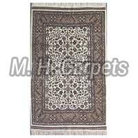 Hand Knotted Woolen Natural Color Carpet
