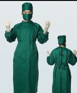 3 Pcs Surgeon Gown