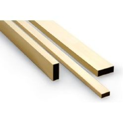 Rectangular Brass Tube