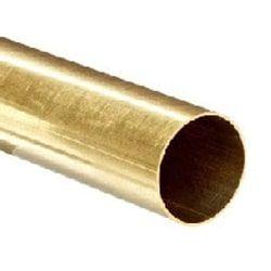 Round Brass Pipe