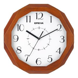 Wooden Analog Clock