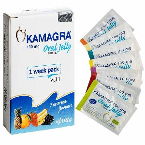 Kamagra Oral Jelly (Sildenafil Citrate 100mg)