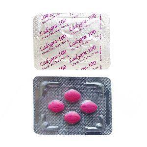 Ladygra-100 Tablets (Sildenafil Citrate 100mg)