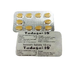 Tadaga 10mg Tablets (Tadalafil 10mg)