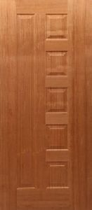 Melamine Teak Finish Doors