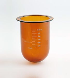 Dissolution Amber Glass Vessel