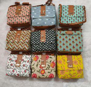 Ikkat Bags
