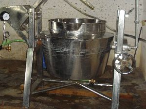Tilting Type Pulp Boiling Kettle