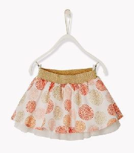 Cotton Flared Skirt