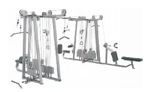 Commercial Multi-Station Gym Machine