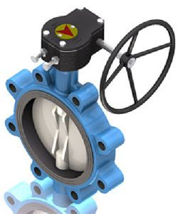 Center Disc Butterfly Valve