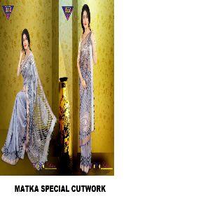 Matka Cutwork Sarees 02