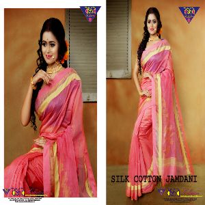 Silk Cotton Jamdani Sarees 02