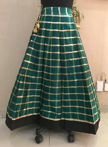 Ladies Green Skirt