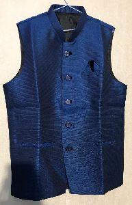 Mens Navy Blue Waistcoat