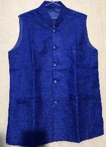 Mens Royal Blue Waistcoat